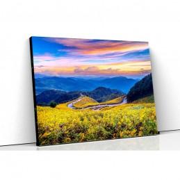 Tablou canvas orizont montan