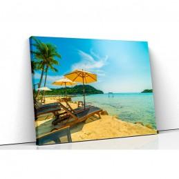 Tablou canvas plaja...