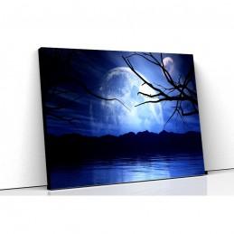 Tablou canvas blue moon