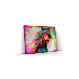 Tablou canvas colorful horse