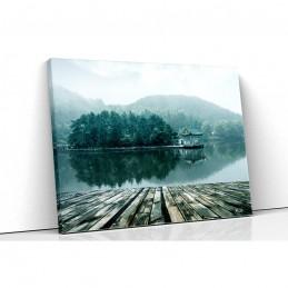 Tablou canvas lake view