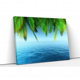 Tablou canvas mare albastra