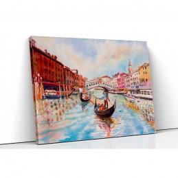 Tablou canvas canal Venetia