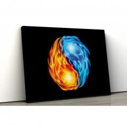 Tablou canvas colorful yin...