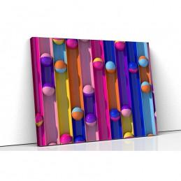 Tablou canvas colorful bals