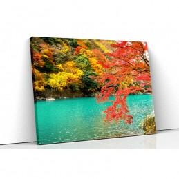 Tablou canvas autumn river