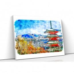 Tablou canvas painting temple
