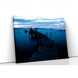 Tablou canvas ponton at night