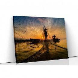 Tablou canvas fisher man...