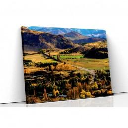Tablou canvas valley view