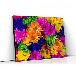 Tablou canvas crizanteme